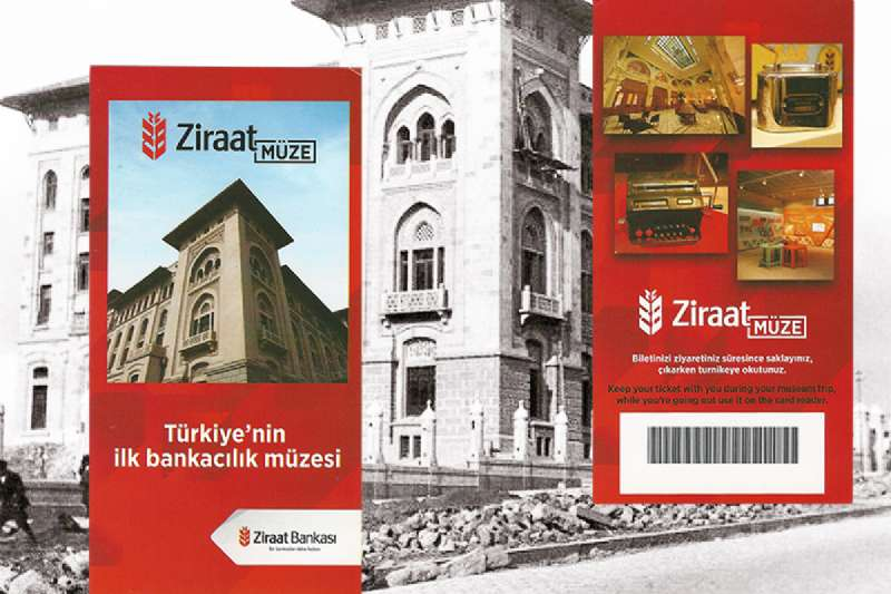 Ziraat Bank Museum, the first banking museum in Turkey is opened to visitors.